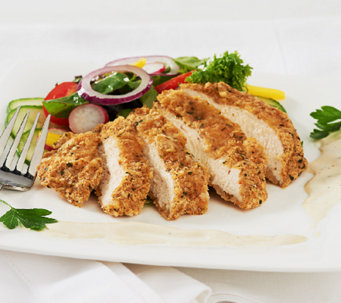 Stuffin Gourmet (20) 4 oz Crusted Parmesan Ranch Chicken Breasts - M45448