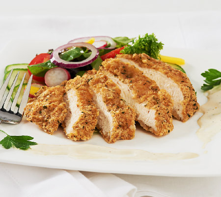 Stuffin Gourmet (20) 4 oz Crusted Parmesan Ranch Chicken Breasts
