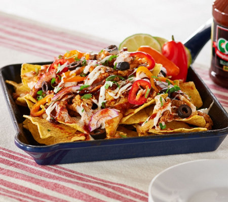 Corky's BBQ 2lb Pulled Pork & Chicken Nacho Kit with Cheese Auto-Delivery