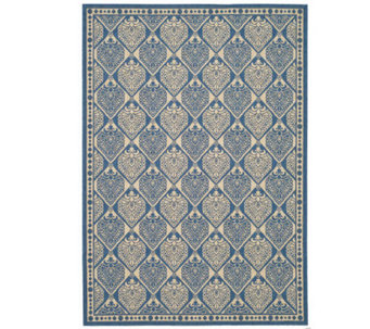 "Safavieh Courtyard Teardrop 5'3"" x 7'7"" Rug with Sisal Weave - M109150"