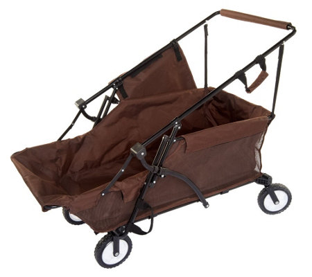 """As Is"" ATLeisure 51"" Collapsible Utility Cart w/ Carry Case"