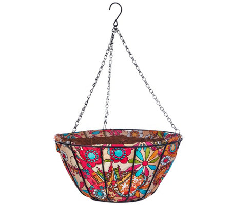"Ultimate Innovations AquaSav S/2 14"" Hanging Basket Planters"