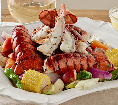 Greenhead Lobster (12) or (24) 4-5 oz Tails w/ Kate's Butter - M51751