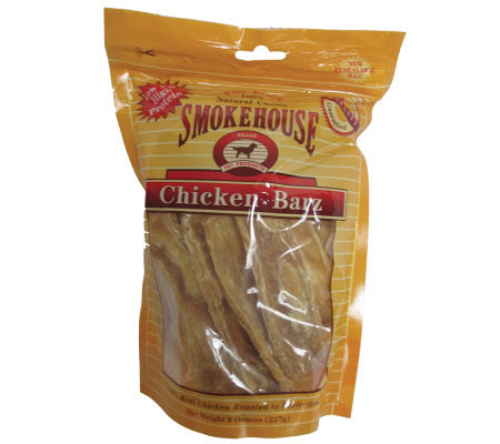 Chicken Barz Dog Treat, 8-oz. Bag