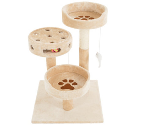 Petmaker Cat Tree 3-Tier 27.5""