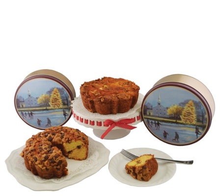 My Grandma's 2 Apple & Chocolate Walnut Cakes in Gift Tins