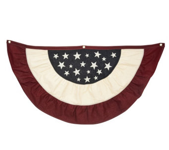 """As Is"" Large American Bunting by Plow and Hearth - M120152"