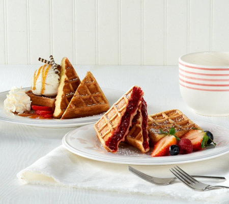 Prince Waffles (18) 2.82 oz. Belgian Stuffed Waffles Assortment
