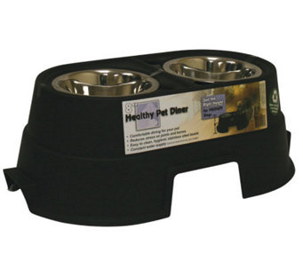 "Healthy Pet Diner 8"" Black - M110554"