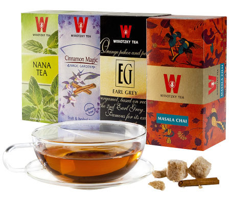 Wissotzky Tea The Dream Team - The Suzette Collection