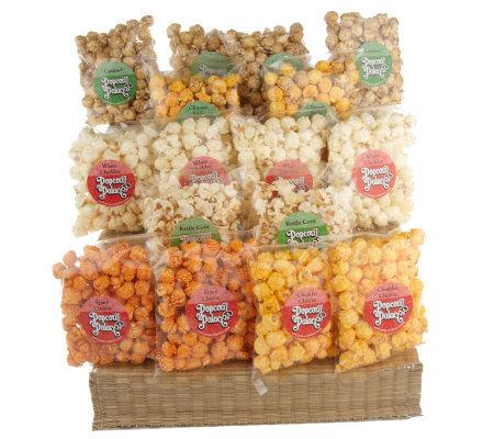 Popcorn Palace 16 Mini Bag Gourmet Popcorn Sampler Page