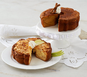 My Grandma's (2) 28 oz. Apple Coconut & Pumpkin Spice Cakes - M45654