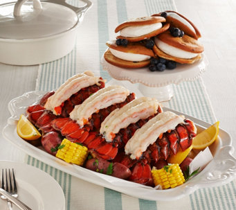 Lobster Gram (8) 4-5 oz. Lobster Tails & (8) Blueberry Whoopie Pies - M50854