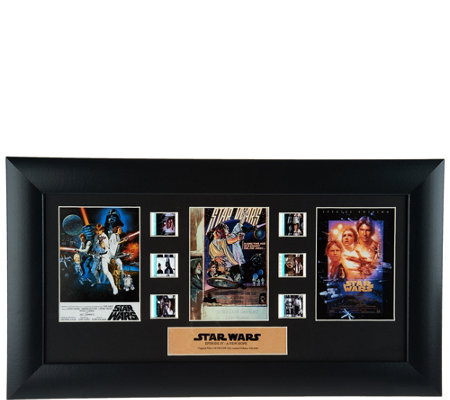 Star Wars A New Hope 40th Anniversar Limited Edition Film Cell
