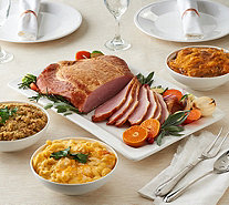 Ships 12/4 Corky's BBQ 4.75 lb Ham or Turkey w/(3)2lb St. Clair Sides - M56354