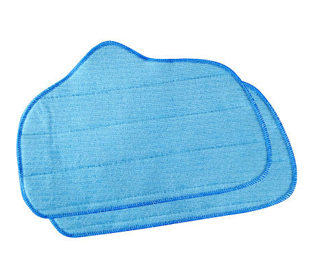SteamFast Replacement Microfiber Pads w/Multi-Purpose Steamer
