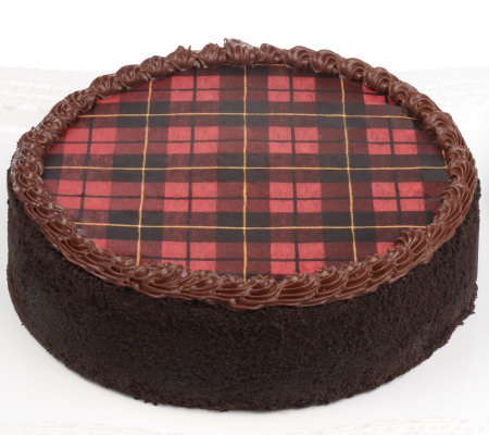 "Isaac Mizrahi Live! 8"" Tartan Plaid Cheesecake by Junior's"