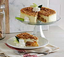Ships 12/5 Junior's 3 lb. Apple Crumb Cheesecake - M53055