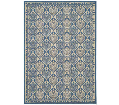 "Safavieh Courtyard Teardrop 2'4"" x 6'7"" Rug with Sisal Weave"