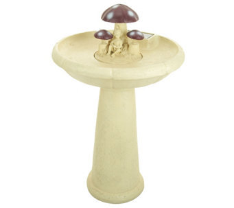 Wobbly Flower or Toadstool Fountain by Smart Solar - M43056