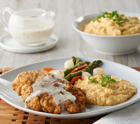 Heartland Fresh (10) 5 oz Fried Chicken with Gravy & Sides Auto-Delivery