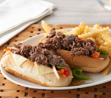 Bella Brand (16) 4 oz. Philly Sandwich Steaks Auto-Delivery