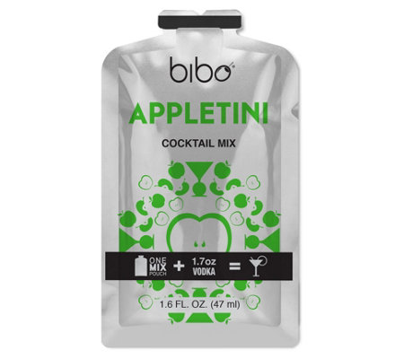 Bibo Barmaid Appletini Cocktail Pouches - 18 Count
