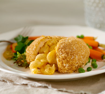 Stuffin Gourmet (16) 7 oz. Mac and Double Cheese Stuffed Chicken