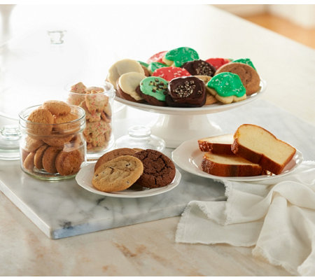 Ships 11/7 Cheryl's 72 Pc. Holiday Bakery Sampler Auto-Delivery