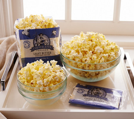 Farmer Jon's (20) 3.5 oz. Bags of Virtually Hulless Popcorn