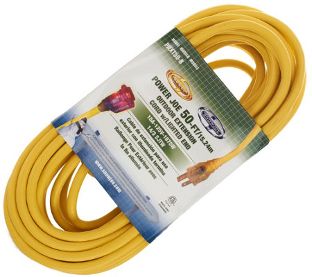 """As Is"" Sun Joe 50-foot Outdoor Extension Cord"