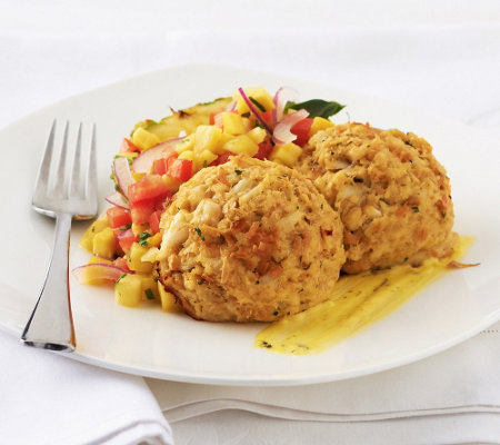Great Gourmet (10) 4 oz Traditional or Coconut Crab Cakes