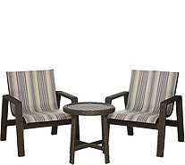 Scott Living 3-piece Buenos Aires Wicker Patio Seating Set - M52060
