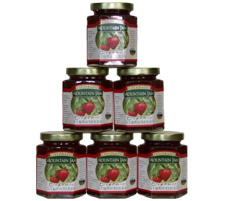 Colorado Mountain Jam Certified Organic Strawberry Jam