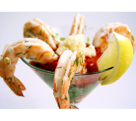 Anderson Seafoods 2 lbs Large Wild Shrimp