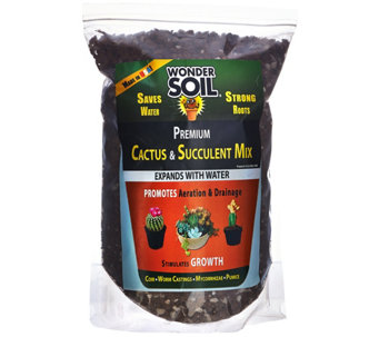 Wonder Soil 6lb Bag Cactus and Succulent Expanding Soil Mixture - M50161