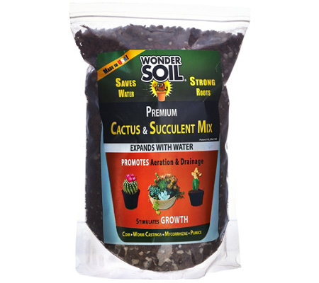 Wonder Soil 6lb Bag Cactus and Succulent Expanding Soil Mixture