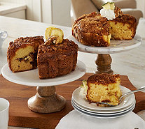 My Grandma's (2) 28oz Banana Walnut & Pineapple Coffee Cakes - M51461