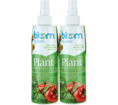 Bloom Set of 2 Plant Food Sprays