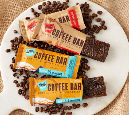 Java Me Up 18 Count Coffee Snack Bar Sampler