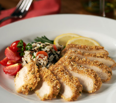 Stuffin Gourmet (8) 4 oz. Zesty Lemon Rosemary Crusted Chicken