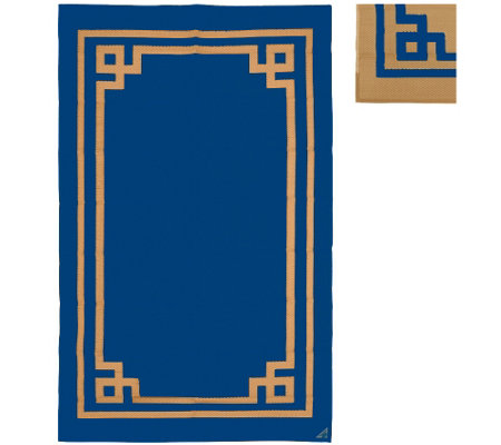 Boxwood 5'x8' Reversible Outdoor Mat by PatioMats