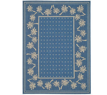 "Safavieh Courtyard Palm Garden 4' x 5'7"" Rug with Sisal Weave - M109164"
