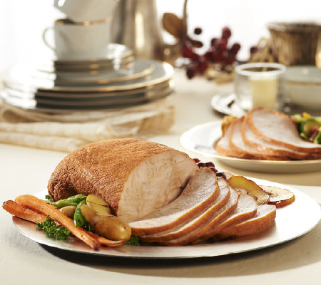 Chef Williams (2) 3.5-4 lb. Roasted & Fried Boneless Turkey Breasts