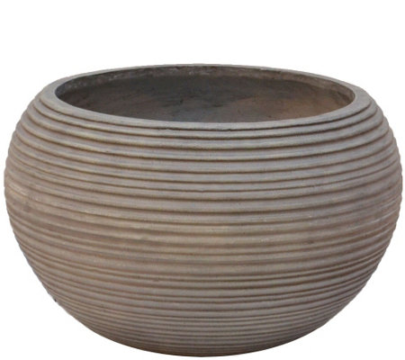"Scott Living 16"" Round Decorative Patio Planter"