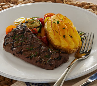 Rastelli (8) 4 oz. Black Angus Sirloins (8) 5 oz. Twice Baked Potatoes - M51364