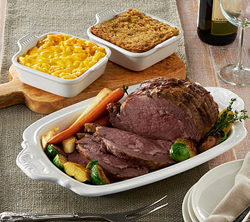 Kansas City 4-4.5 lb. Prime Rib with (2) 2 lb. St. Clair Sides - M53164