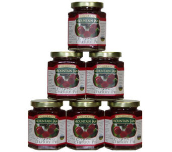 Colorado Mountain Jam Certified Organic CherryPie Jam - M111765