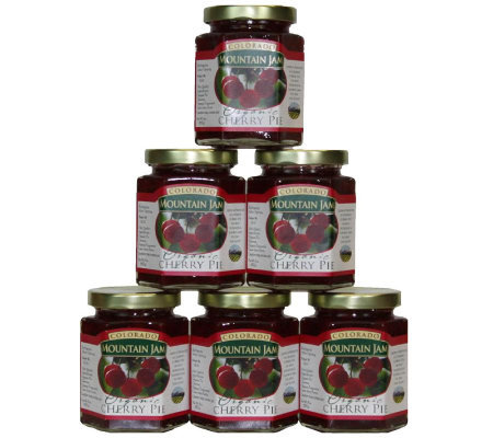 Colorado Mountain Jam Certified Organic CherryPie Jam