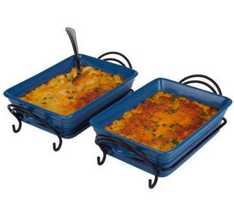 St. Clair (2) 2-lb Trays Four Cheese Macaroni and Cheese - M113266
